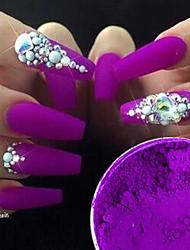 Недорогие -2pcs Искусственные советы для ногтей Блеск Модный дизайн маникюр Маникюр педикюр Ретро Свадебные прием / На каждый день