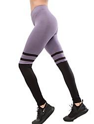 baratos -Mulheres Calças de Yoga Esportes Meia-calça Corrida, Fitness, Ginásio Roupas Esportivas Secagem Rápida, Confortável Micro-Elástica