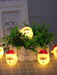 baratos -20 Lideradas por energia solar levou fadas corda à luz de velas xmas ao ar livre corda natal jardim lâmpada de luz