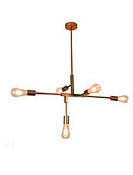 billige -5-Light Sputnik Lysestager Baggrundsbelysning 110-120V / 220-240V Pære ikke Inkluderet