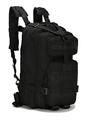 Недорогие -30 L Рюкзаки - Легкость, Противозаносный, Пригодно для носки На открытом воздухе Охота, Рыбалка, Пешеходный туризм Оксфорд Военно-зеленный, Камуфляжный, Случайный цвет