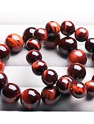 cheap -Women's Tiger Eye Stone Classic / Beads Strand Bracelet - Creative Stylish, Classic, Folk Style Bracelet Yellow / Blue / Dark Red For Birthday / Festival