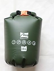 Недорогие -15 L Водонепроницаемый сухой мешок / Сумка для спорта и отдыха Дожденепроницаемый, Пригодно для носки, Офис для Дайвинг / Серфинг / Для погружения с трубкой