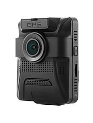 baratos -Factory OEM 480p / 720p / 960p HD / Visão Nocturna DVR de carro 150 Graus / 130 graus Ângulo amplo 12 MP 2.4 polegada LCD Dash Cam com GPS / Visão Nocturna / G-Sensor Gravador de carro