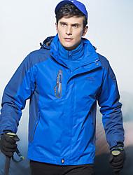 Недорогие -Муж. Худи и толстовка на открытом воздухе Осень Зима С защитой от ветра Быстровысыхающий Воздухопроницаемость 100% полиэстер Терилен Куртки 3-в-1 Верхняя часть Односторонняя