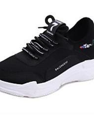 Női Kényelmes cipők Szintetikus Tavasz   Ősz Sportcipők Futócipő Alacsony  Fehér   Fekete 122195469e