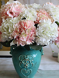 cheap -Artificial Flowers 1 Branch Classic / Single Stylish / Pastoral Style Hydrangeas Tabletop Flower