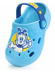 baratos -Para Meninos / Para Meninas Sapatos PVC Primavera / Verão Conforto Chinelos e flip-flops para Bébé Rosa claro / Azul Claro / Azul Real