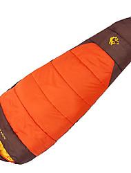 Недорогие -Jungle King Спальный мешок на открытом воздухе Кокон 0 °C Пористый хлопок Толстые 230*80 cm Зима Все сезоны для