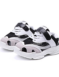 cheap -Girls' Shoes Mesh Summer Comfort Sneakers Walking Shoes Buckle for Kids White / Black / Pink