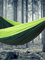 cheap -Camping Hammock Outdoor Portable, Lightweight for Camping / Hiking / Outdoor / Travel - 2 person Dark Blue / Red / Green