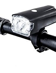 Недорогие -Передняя фара для велосипеда / Фары для велосипеда Светодиодная лампа Велосипедные фары LED Велоспорт Водонепроницаемый, Портативные, Для профессионалов USB 220 lm USB Белый / АБС-пластик / IPX-4