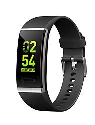 billige -Smart Armbånd JSBP-V11 for Android iOS Bluetooth Sport Vandtæt Pulsmåler Blodtryksmåling Touch-skærm Stopur Skridtæller Samtalepåmindelse Aktivitetstracker / Brændte kalorier / Sleeptracker / Vækkeur