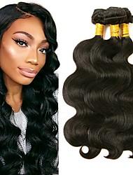 voordelige -3 bundels Birmees haar BodyGolf 8A Echt haar Menselijk haar weeft Bundle Hair Extentions van mensenhaar 8-28 inch(es) Natuurlijke Kleur Menselijk haar weeft uitbreiding Beste kwaliteit Hot Sale