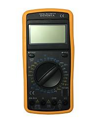 Недорогие -dt9201a lcd портативный цифровой мультиметр, используемый для дома и автомобиля