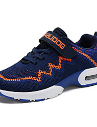 cheap -Boys' Shoes Mesh Spring &  Fall Comfort Athletic Shoes Walking Shoes Lace-up for Kids Black / Blue