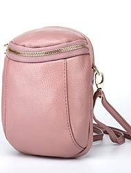 cheap -Women's Bags PU(Polyurethane) Mobile Phone Bag Zipper Black / Blushing Pink / Wine