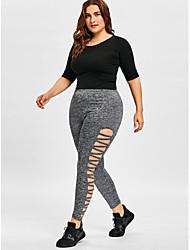 cheap -women's cotton sweatpants pants - solid colored