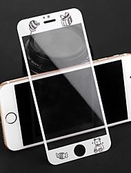 Недорогие -AppleScreen ProtectoriPhone 8 Pluss Узор Защитная пленка для экрана 1 ед. Закаленное стекло