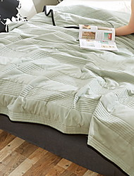 cheap -Comfortable - 1pc Quilt Summer Cotton Solid Colored