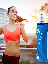 billiga Sport och friluftsliv-AONIJIE 0.5 L Armband för Camping / Löpning / Jogging Sportväska Mateial som andas Löparbälte Nylon Svart / Orange / Blå