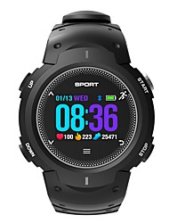 cheap -Smartwatch df13 for iOS / Android Heart Rate Monitor / Waterproof / Calories Burned / Long Standby / Information Pedometer / Call Reminder / Sleep Tracker / Alarm Clock / Camera Control / 250-300