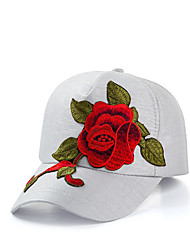 cheap -Women's Basic / Holiday Baseball Cap - Floral Mesh