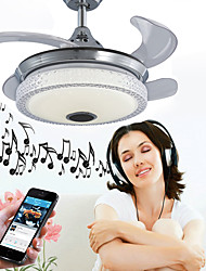 cheap -Ecolight™ Geometric / Novelty Ceiling Fan Ambient Light - Adjustable, WIFI Control, Bluetooth Control, 110-120V / 220-240V, RGB, LED Light Source Included