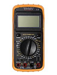 Недорогие -Портативный цифровой мультиметр dt9205a.4 lcd для дома и автомобиля