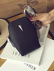 baratos -Mulheres Bolsas PU Telefone Móvel Bag Cor Única Roxo / Cinzento Claro / Vinho