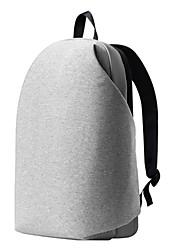 """Недорогие -MEIZU универсальный / 15 """"Ноутбук Рюкзаки Ткань """"Оксфорд"""" Сплошной цвет для делового офиса для колледжей и школ для путешествия Водостойкий Противоударное покрытие с USB"""