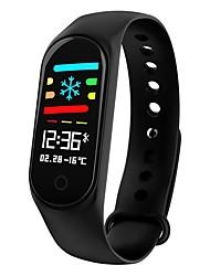 Недорогие -KUPENG M3S Смарт Часы Android iOS Bluetooth Спорт Водонепроницаемый Пульсомер Измерение кровяного давления / Сенсорный экран / Израсходовано калорий / Длительное время ожидания / Педометр