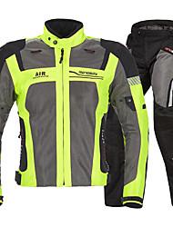 baratos -MOTOBOY Roupa da motocicleta Conjunto de calças de jaqueta para Homens Tecido Oxford / Tecido de Rede Primavera & Outono / Verão Resistente ao Desgaste / Proteção / Refletivo