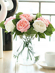 cheap -Artificial Flowers 1 Branch Classic / Single Stylish / Wedding Flowers Roses Tabletop Flower