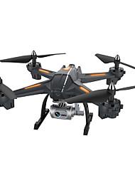 abordables -RC Drone XINGYUCHUANQI XY-S6 RTF 4 Canaux 6 Axes 2.4G Avec Caméra HD 3.0 720 Quadri rotor RC Retour Automatique / Mode Sans Tête / Accès En Temps Réel D3634 Quadri rotor RC / Télécommande / Caméra