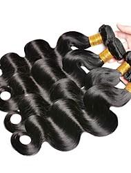 abordables -4 offres groupées Cheveux Indiens / Cheveux Vietnamiens Ondulation naturelle Non Traités / Cheveux humains Cadeaux / Costumes Cosplay / Tissages de cheveux humains 8-28 pouce Tissages de cheveux