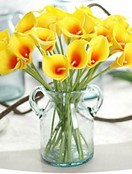 cheap -Artificial Flowers 8 Branch Classic / Single Stylish / Pastoral Style Calla Lily Tabletop Flower