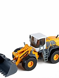 cheap -Toy Car Fire Engine Vehicle / Backhoe Loader Construction Vehicle New Design Metal Alloy All Child's / Teenager Gift 1 pcs