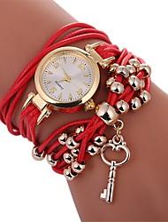 abordables -Mujer Reloj Pulsera Chino Nuevo diseño / Reloj Casual PU Banda Casual / Moda Negro / Blanco / Azul