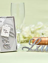 baratos -Não-Personalizado Aço Inoxidável / cromada Abridores de Garrafa / Favor de garrafa Tema Clássico / Romance / Casamento Garrafas para Lembrancinhas