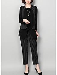 economico -Per donna Set A strisce Pantalone