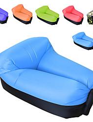 Недорогие -Надувной диван / Надувной матрас / Надувной стул На открытом воздухе Походы Водонепроницаемость, Компактность, Быстрый надувной Оксфорд Рыбалка, Пляж, Походы для 1 человек