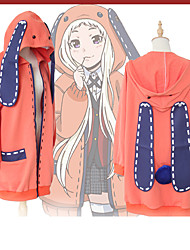 cheap -Inspired by Kakegurui Cookie Anime Anime Cosplay Costumes Cosplay Hoodies Anime / Letter & Number Long Sleeve Coat For Women's Halloween Costumes