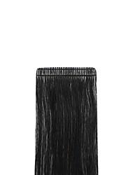Недорогие -Neitsi На ленте Расширения человеческих волос Прямой человеческие волосы Remy Накладки из натуральных волос Евро-Азиатские волосы Черный Блондинка 1шт / уп Мягкость Шелковистость Для вечеринок Жен.
