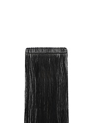 cheap -Neitsi Tape In Human Hair Extensions Straight Black Blonde Human Hair Extensions Remy Human Hair Eurasian Hair 1pc / pack Soft / Silky / Party Women's