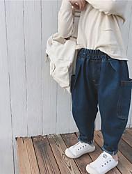 billiga -Barn Flickor Enfärgad Jeans