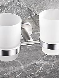 Недорогие -Держатель для зубных щеток Новый дизайн / Cool Современный Нержавеющая сталь / железо 1шт Зубная щетка и аксессуары На стену