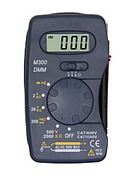Недорогие -m300 lcd портативный цифровой мультиметр, используемый для дома и автомобиля
