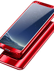 Недорогие -Кейс для Назначение SSamsung Galaxy S9 Plus / S9 Защита от удара / Покрытие Чехол Однотонный Твердый ПК для S9 / S9 Plus / S8 Plus