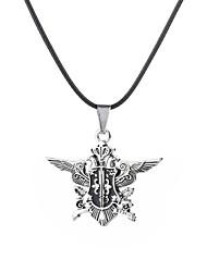 preiswerte -Herrn Stilvoll / Seil Anhängerketten - Erklärung, Tattoo Stil, Urlaub Cool Silber 48 cm Modische Halsketten Schmuck 1pc Für Abiball, Klub